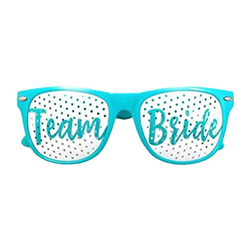 nd Rosa Brautbrille Brautparty Lustig Brille Polterabend Bachelorette Party ()