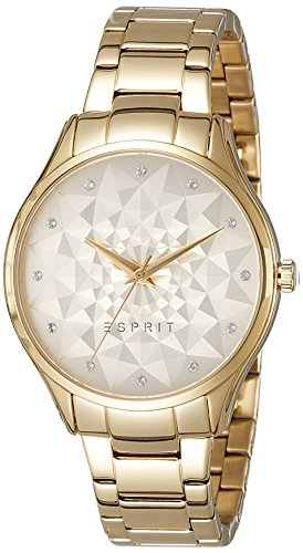 Esprit Womens Quartz Watch, Analogue Classic Display and Stainless Steel Strap ES109022002