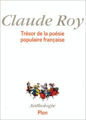 Trsor de la posie populaire franaise