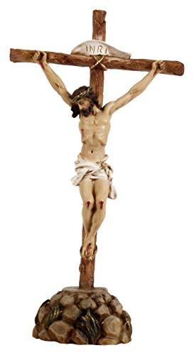 Joana Darque JD193 - Estatua Decorativa representacion de Cristo con Base