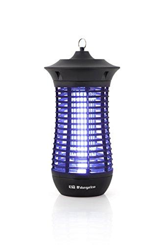 Orbegozo MQ 4018 - Mata mosquitos eléctrico para uso interior y exterior con área de acción de 100 m2, 18 W de potencia y diseño vertical
