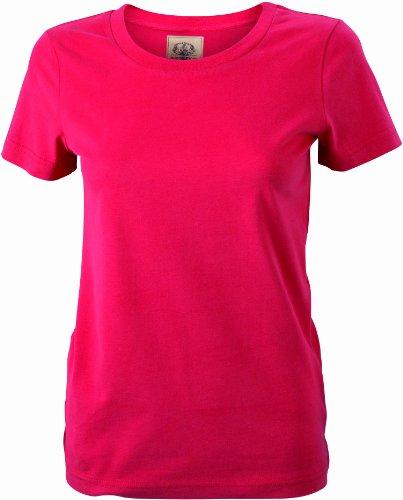 James & Nicholson T-shirt vintage pour femme Rouge (red)