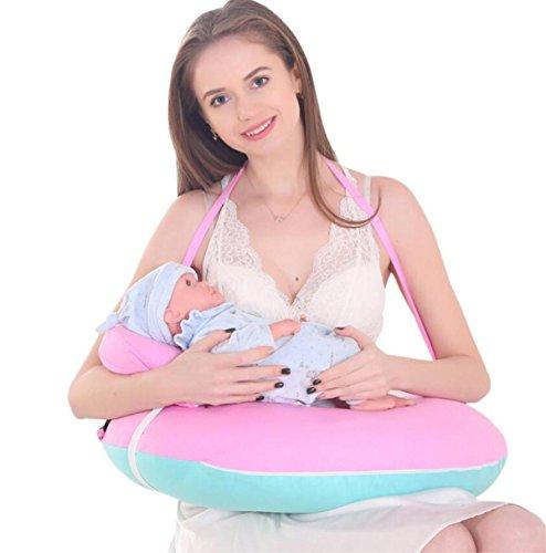 Allaitement Maternel Oreiller de Soins Pillow Multi-Fonctionnel Coussin de bébé Alimentation L'Artefact O-Type Grossesse Femmes Taille, 5