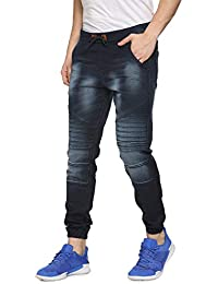 Campus Sutra Men Striped Denim Jeans