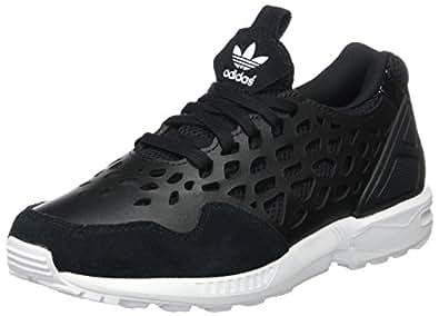 adidas Damen Zx Flux Lace Woman Sneakers, schwarz/weiß, 36