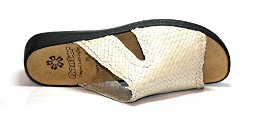 Damen Monica G 202535 Weite Beige Pantoletten Ganter Fzqg1aw