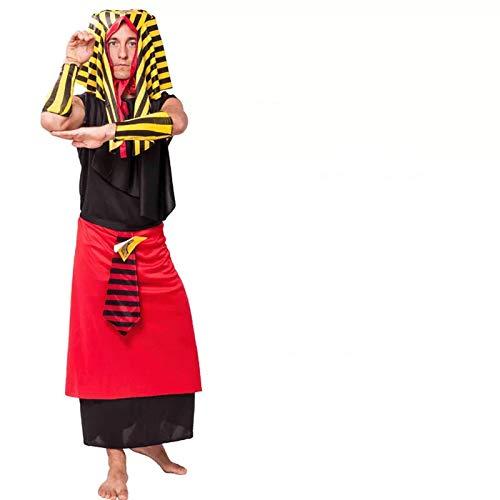 thematys Pharao Ägypten Kostüm-Set für Herren - perfekt für Fasching, Karneval & Cosplay - Einheitsgröße ()