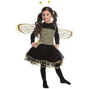 Dress up America Conjunto de Disfraces de abejorro para niñas Vestido de Mangas de Abeja