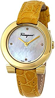 Salvatore Ferragamo watch for Women - Analog Leather Band - FAP040016