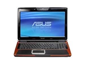 """Asus G50V-AK043K Core 2 Duo P8600 RAM 4 Go HDD 320 Go DVD±RW (±R DL) NVIDIA GeForce 9700M GT LAN sans fil : 802.11a.b.n Vista Home Premium 64 Bit 15.4"""" écran large TFT 1680x1050 (WSXGA+) Color Shine caméra"""