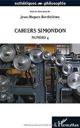 Cahiers Simondon - Numéro 4