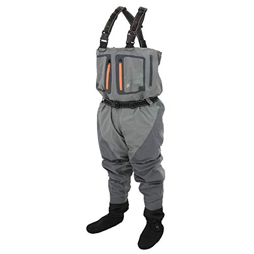 Frogg Togg Pilot-Ii Atmungsaktiv Stft Wader, Herren, Pilot II Breathable SF Wader, Slate/Gray, XX-Large Toggs-pilot