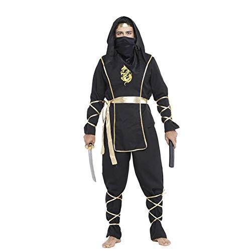 Krieger Prinz Kostüm - Ninja Style Halloween Kostüme Krieger Anzug Performance Kleidung für Männer Cosplay Party