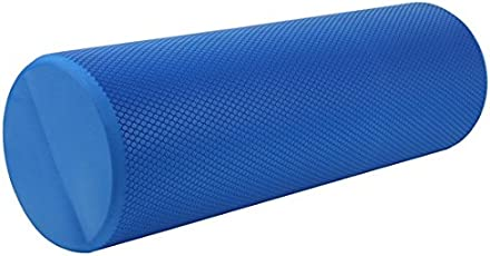 Roller X, High Density EVA Foam Roller 18x6, Blue
