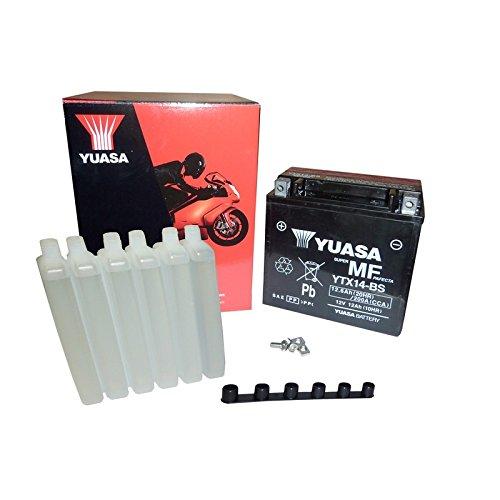 YUASA YTX14-BS Batterie de Moto