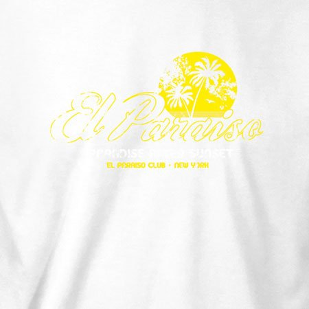 TEXLAB - El Paraiso - Herren T-Shirt Violett