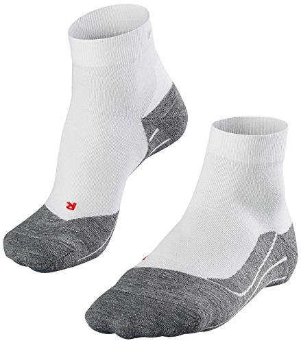 FALKE Herren Socken RU4 Short, Weiß, 42-43, 16705-2020