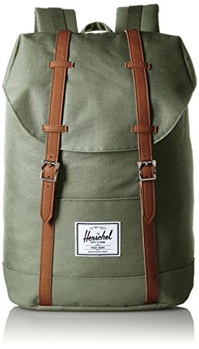 Herschel Supply Company SS16 Casual Daypack, 19.5 Liters, Deep Litchen Green/ Tan