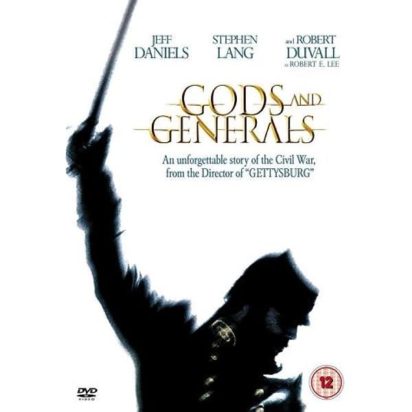 Gods and Generals [Reino Unido] [DVD]: Amazon.es