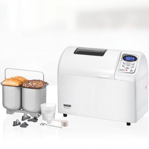 UNOLD Brotbackautomat Backmeister Extra, 700 W, 750-1800g Brotgewicht, Keramik-Beschichtung, 68511 -