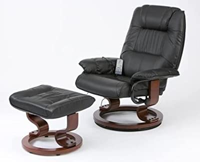 Napoli Heat and Massage Recliner Chair with Foot Stool from Restwell / Drive Medical
