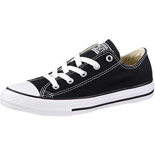 Converse Unisex-Kinder C. Taylor All Star Youth OX 3J2 Low-Top, Schwarz (Black 3j235c), 31 EU (Converse Schuhe Für Kinder)