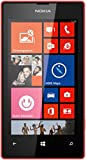 Nokia Lumia 520 Smartphone (10,1 cm (4,0 Zoll) WVGA ClearBlack LCD Touchscreen, 5,0 Megapixel Auto Fokus Kamera, 1,0 GHz Dual-Core-Prozessor, Windows Phone 8) rot