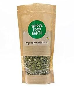 Wholefood Earth: Organic Pumpkin Seeds 1kg | Raw | GMO Free