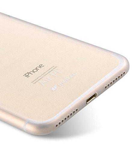Apple Iphone 7 Melkco Elite-Serie Premium Leder-Snap zurück Tasche Tasche mit Premium-Leder Handgefertigte gute Schutz, Premium Feel-Tan Transparent