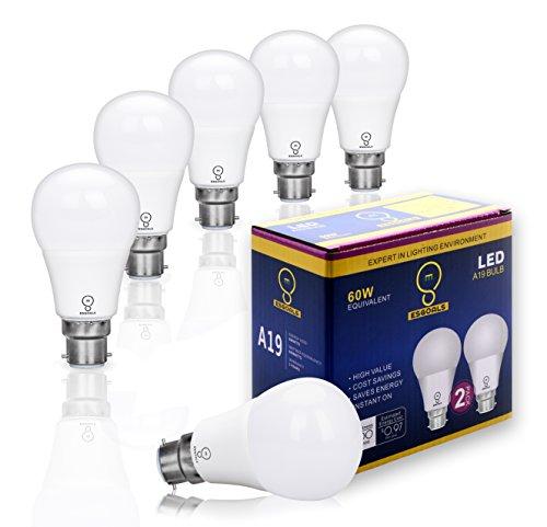 6-pack-esgoals-8w-b22-led-light-bulbs-800-lumens-5000k-60w-incandescent-equivalent-daylight-white-a6