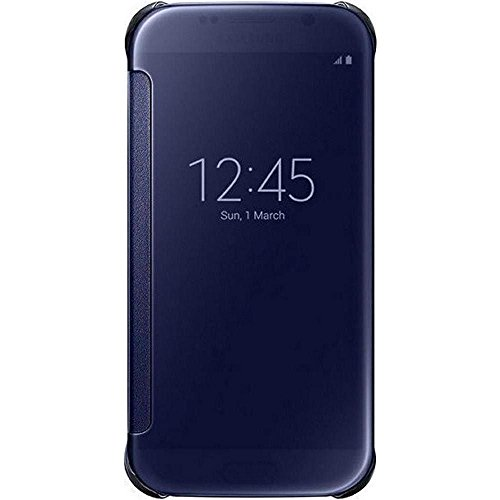 Samsung custodia s view per galaxy s6, nero