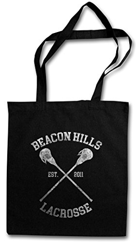 Urban Backwoods Beacon Hills Lacrosse Hipster Bag Beutel Stofftasche Einkaufstasche - Damen Beacon