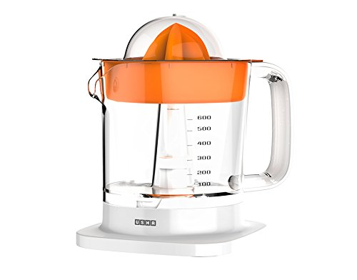 Usha On The Go JC 3420 30-Watt Citrus Juicer (White)