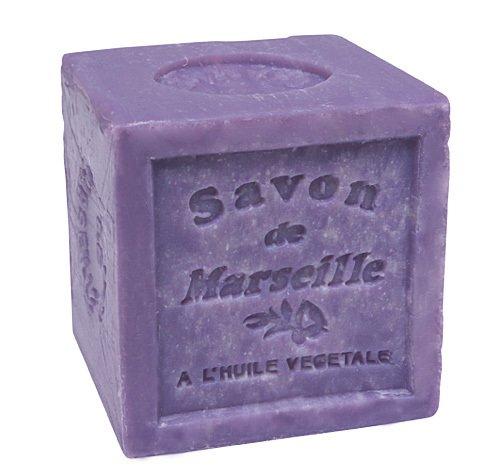Savon de Marseille Lavande Savon Bloc 72% huile végétale 300 g