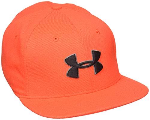 Under Armour Herren Huddle Snapback 2.0 Kappe, Radio Red/Charcoal/Black, OSFA Radio-cap-baseball-cap