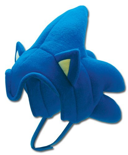 he Hedgehog Plush Sonic Hat by Sonic The Hedgehog ()