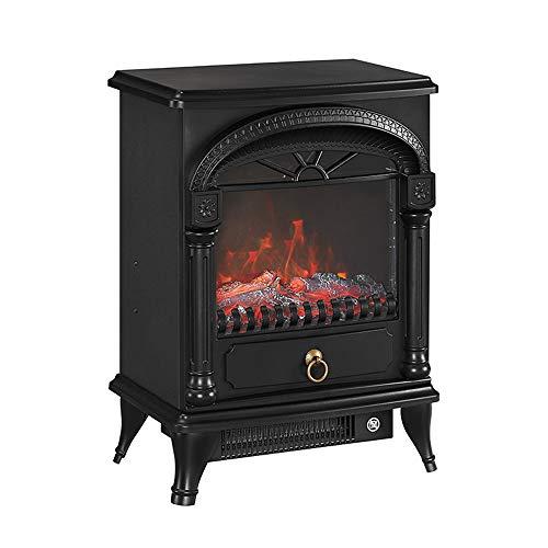 Heating Calefactor Chimenea Eléctrico - Moderno Calefactor de con Intenso Efecto de Leña Ardiendo...