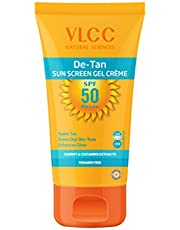 VLCC De Tan Sunscreen Gel Creme, SPF 50, 100g