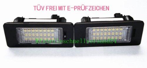 Preisvergleich Produktbild LED Kennzeichenbeleuchtung TÜV FREI