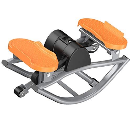 EGCLJ Home Side Stepper Swing Machine, Mini-Heimtrainer, Unter Dem Schreibtisch Elliptisch, Fitness-Übung Für Zuhause Und Büro