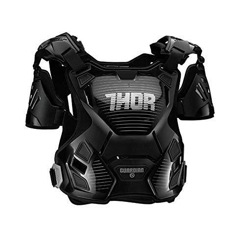 Thor 2017 Kinder Motocross/MTB Brustpanzer - Guardian - Schwarz-Silber