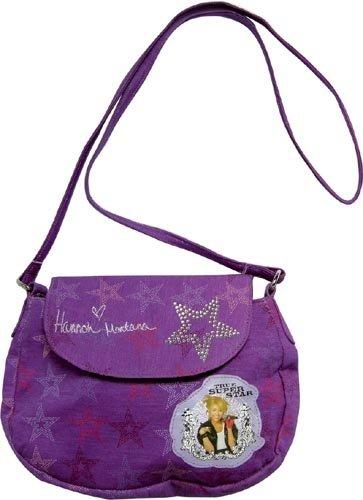 United Labels - 0805533 - kleine Tasche - Hannah Montana,  Disney (Baumwoll-jersey United)