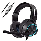 NUBWO Gamer Headset PS4 N11 Gaming Headset Xbox One Stereo Wired PC