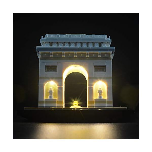 LIGHTAILING Set di Luci per (Architecture Arco di Trionfo) Modello da Costruire - Kit Luce LED Compatibile con Lego… 5 spesavip