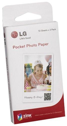 LG PS2203 Printpapier für Pocket Photo Drucker