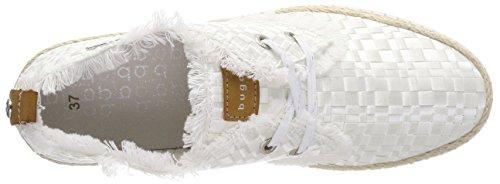 Bugatti Damen 421448026959 Hohe Sneaker Weiß (White/ Brown)