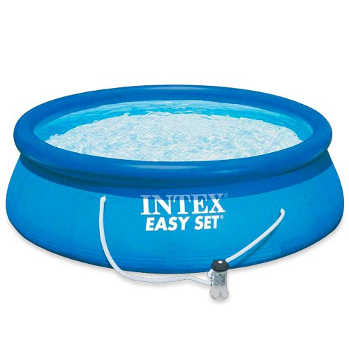 Intex Aufstellpool Easy Set Pools®, Blau, Ø 366 x 91 cm