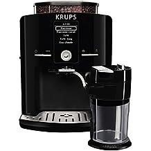 KRUPS EA8298 Kaffeevollautomat Latt'Espress One-Touch-Funktion (1,7 l, 15 bar, LC Display, Cappuccinatore) schwarz
