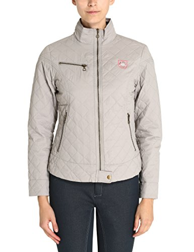 "Damen Rts Steppjacke ""flicka\"", grau, XL, 10510"