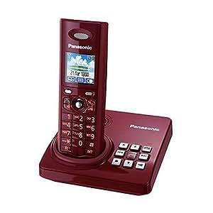panasonic kx tg8220gr schnurloses telefon rot elektronik. Black Bedroom Furniture Sets. Home Design Ideas
